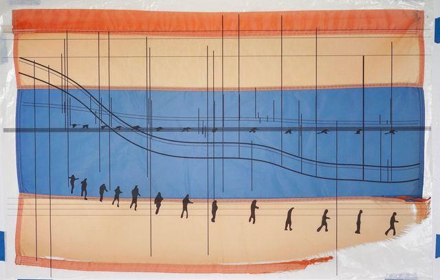 , 'Caravan Flag/Bandera de caravana,' 2015, Crystal Bridges Museum of American Art