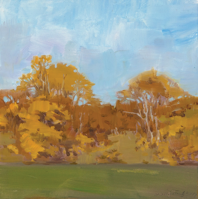 , 'Yellow Trees in Autumn,' , Dowling Walsh