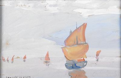 Untitled (Sailboats)