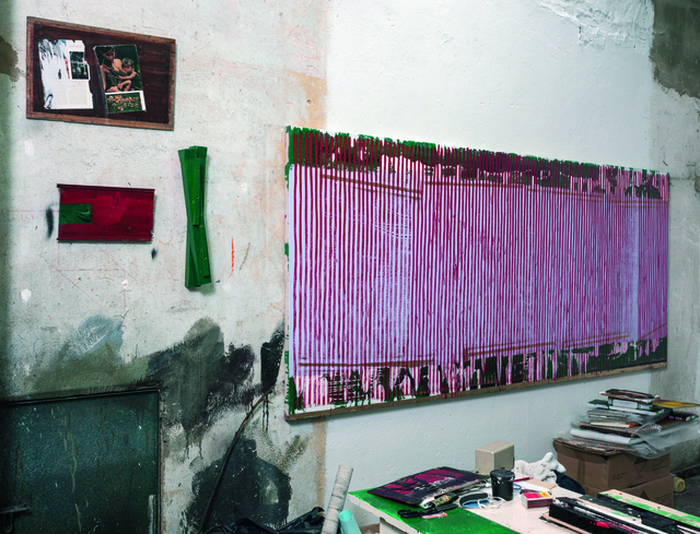 Danilo Dueñas, '4 pinturas en el taller', 2016, Galería Jenny Vilà