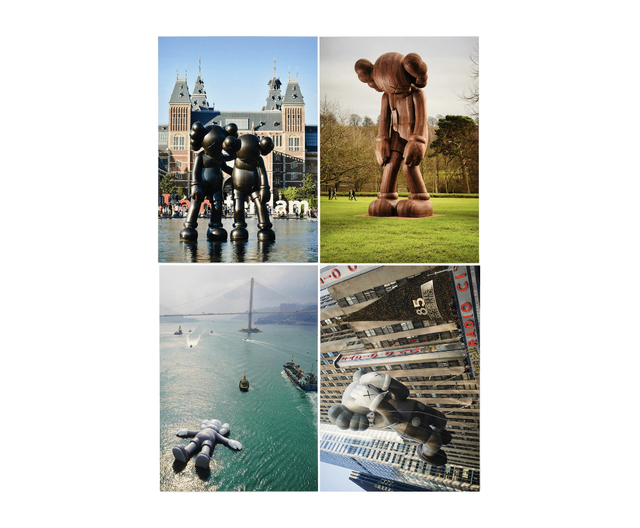 KAWS, 'KAWS x NGV Postcard (Set of 4) (Monumental Sculptures)', 2019, Print, Paper, Curator Style