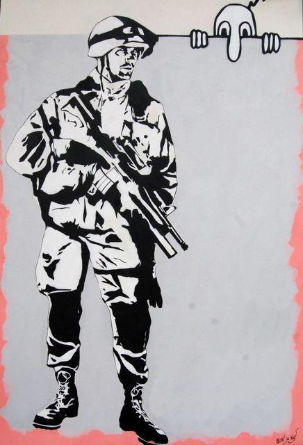 , 'Soldier,' 2016, Galerie Kronsbein