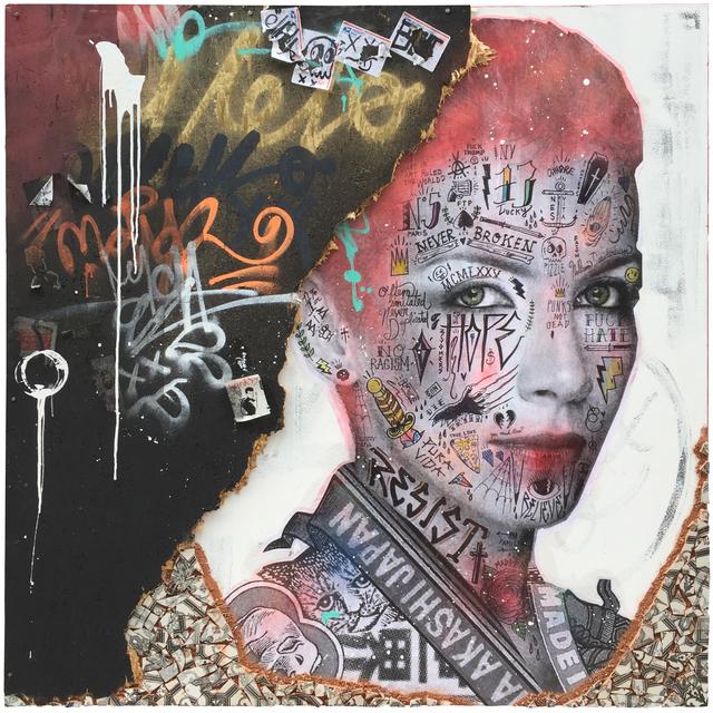 , 'Annie Lennox,' 2018, Galerie LeRoyer