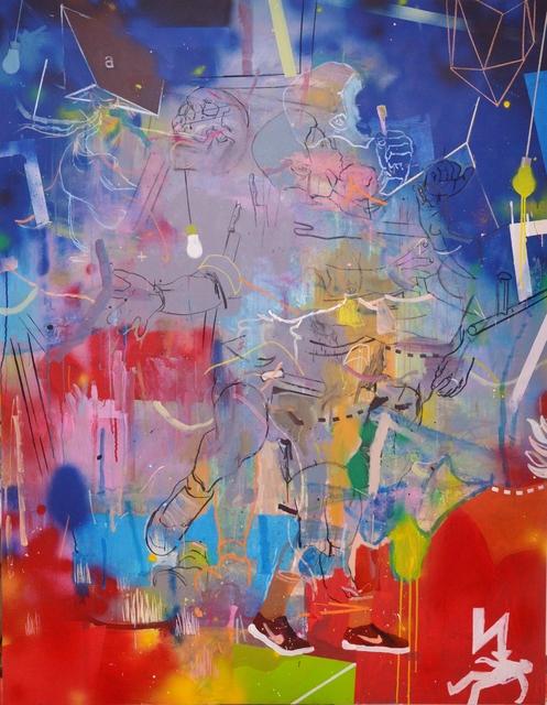 Thameur Mejri, 'Je marche vers moi ', 2019, The Foundation Gallery