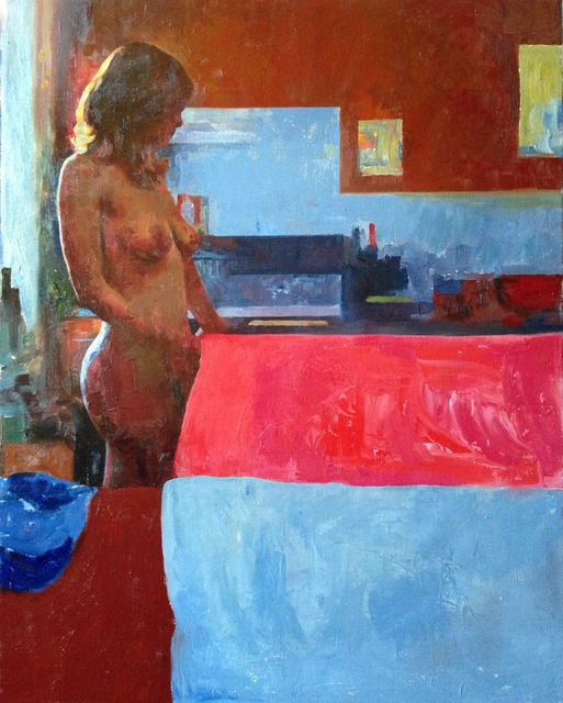 , 'Red Room,' 2018, Gallery 1261