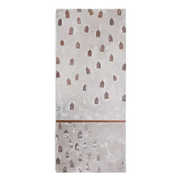 Brandon Reese, 'COMMUNITY MIST', Mixed Media, Wood, paint, clay, caronates, oxides, Exhibit by Aberson