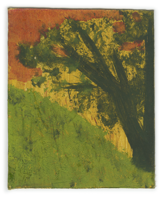 , 'Landscape Series: Green Hill with Tree and Hurricane Sky,' , Ingleby Gallery