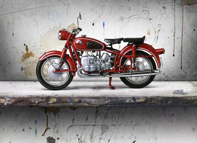 César Galicia, 'Bodegón con Moto Roja (Still Life with Red Motorcycle)', 2016, Forum Gallery