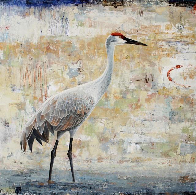 , 'Sentinel (Sandhill Crane) 2,' 2018, Patricia Rovzar Gallery