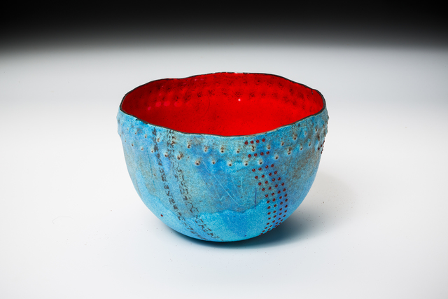 , 'Turquoise Caverns Bowl,' 2016, Mobilia Gallery