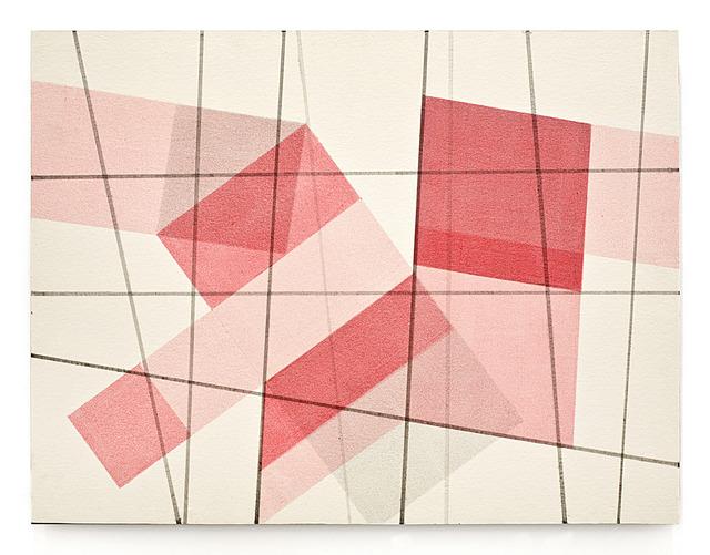 , 'Rayon Rouge/gris 1,' 2013-2014, LURIXS: Arte Contemporânea