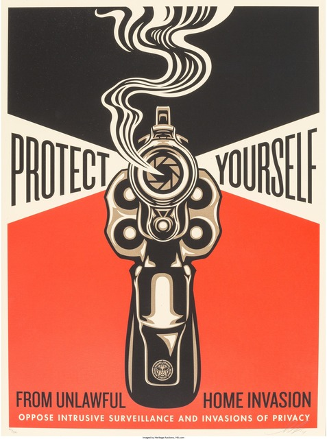 Shepard Fairey (OBEY), 'Home Invasion 2', 2014, Heritage Auctions