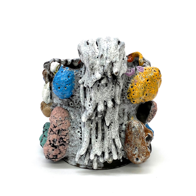 Vince Palacios, 'Potato Tree with Vines', 2021, Sculpture, Clay, Slip, Glaze and Various Flux, Multiple Firing, Simard Bilodeau Contemporary
