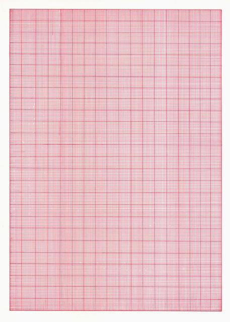 , 'Millimeterpapier, No 23,' 2016, Christine König Galerie