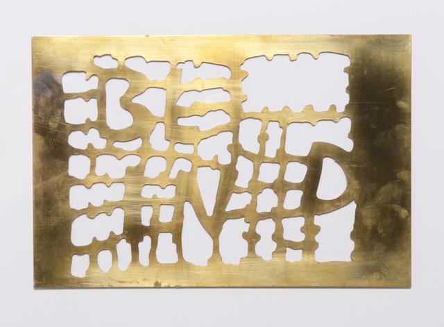 , 'Blind,' 2013, Rhona Hoffman Gallery