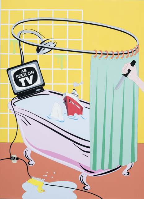 Nancy Chunn, 'Scene II The Bathroom, Detail: Bathtub', 2004-2005, Ronald Feldman Gallery