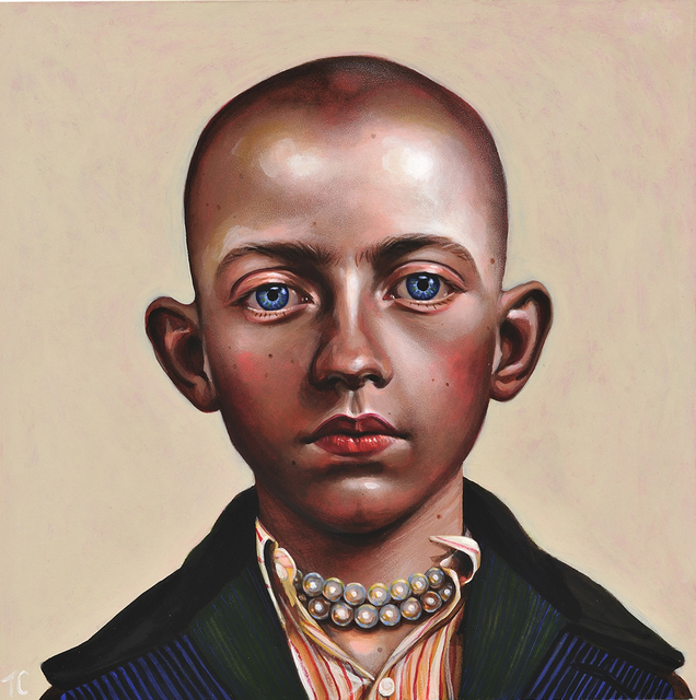 , 'Boy With the Pearl Necklace,' 2014, Catharine Clark Gallery