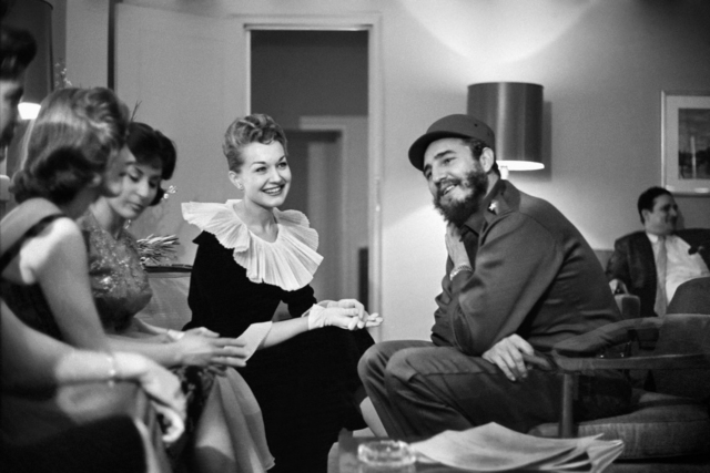 , 'Fidel Castro and the radio queens of New York. Wednesday, April 22, 1959,' 1959, Sous Les Etoiles Gallery