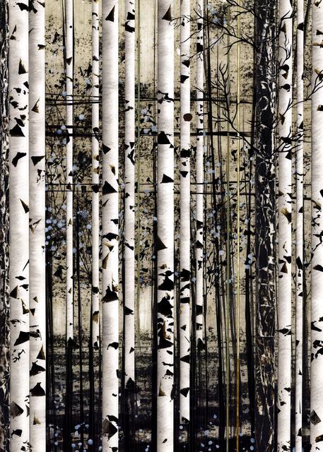 , 'Tree and Telephone Line,' 2017, Diehl Gallery