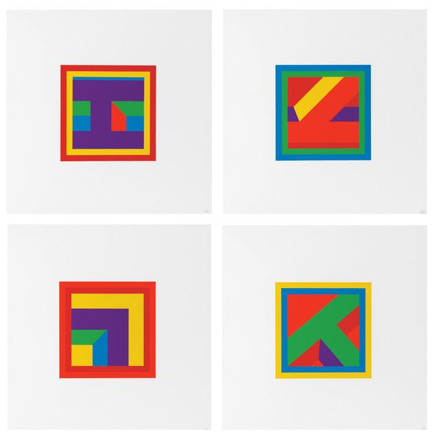 , 'Nine Linocuts,' 2006, Sims Reed Gallery