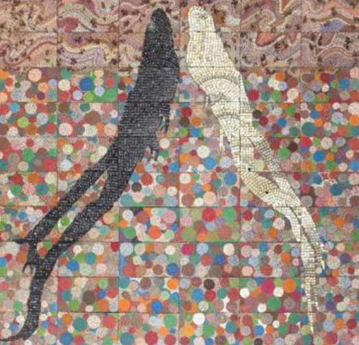 , 'Tightrope: Blind Faith,' 2017, GRIMM