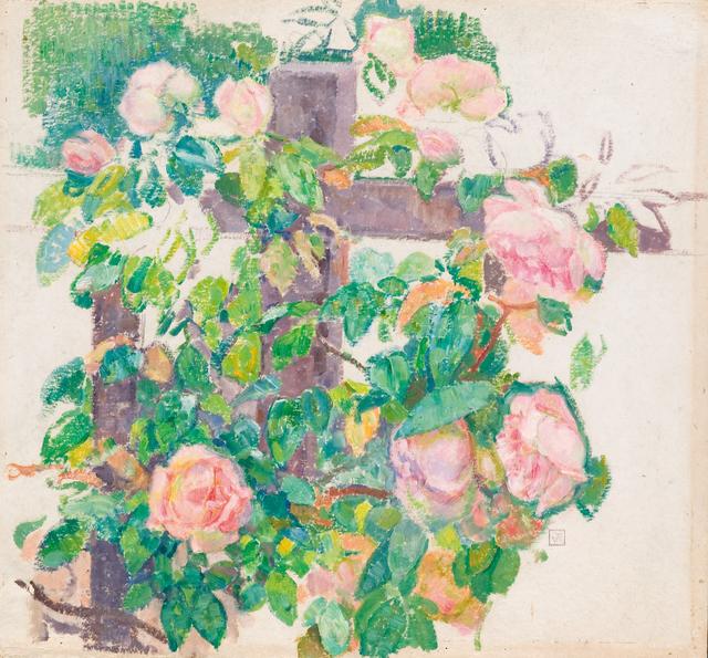 , 'Roses Grimpantes,' ca. 1920, Waterhouse & Dodd