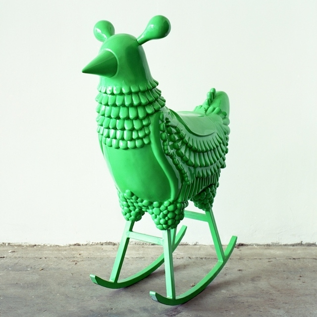 , 'Green Chicken,' 2008, Milwaukee Art Museum