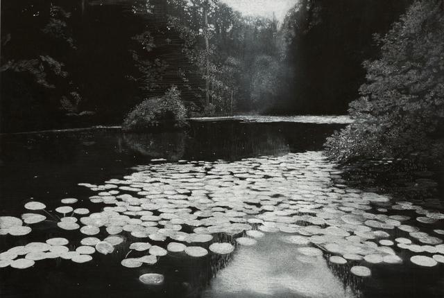 , 'Mirrored Water,' 2015, Rebecca Hossack Art Gallery
