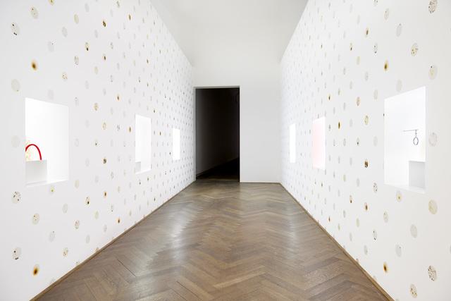 , 'Installation view 7,070,430K of Digital Spit,,' 2015, Kunsthalle Basel