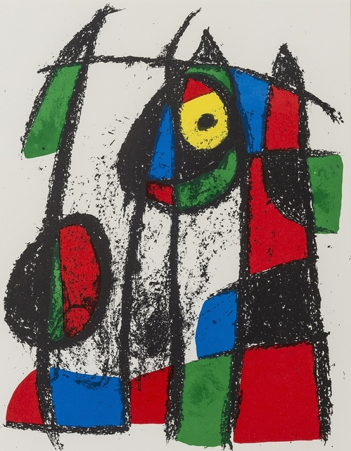 Joan Miró, 'Untitled; Untitled; Untitled (from Lithographe II) (Cramer 198)', 1975, Forum Auctions