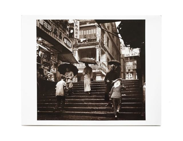 , 'Pedestrians on the Steps (Sheung Wan, 1960),' 1960, Blindspot Gallery