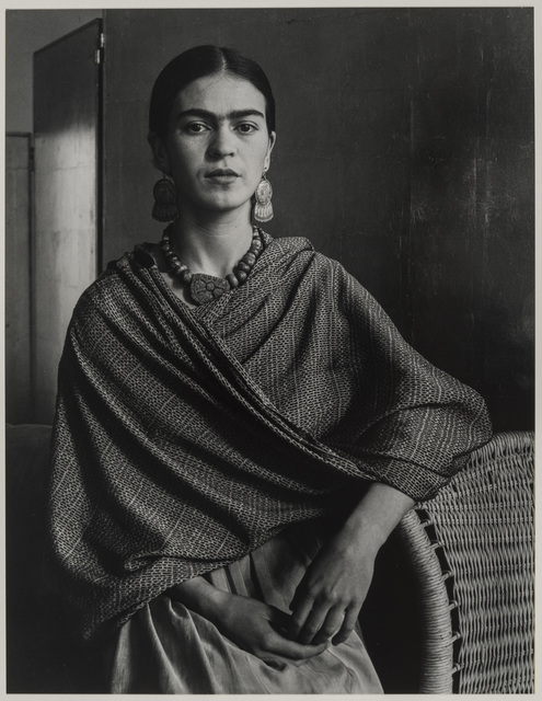 , 'Frida Kahlo Rivera, Painter and Wife of Diego Rivera,' 1931, Museum of Fine Arts, Boston
