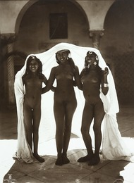 Three young nude women