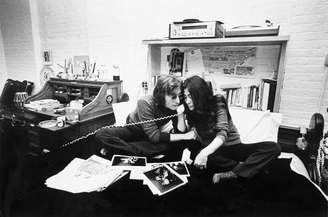 Brian Hamill, 'John Lennon e Yoko Ono', 1972, Il Ponte