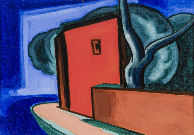 , 'Untitled [Street Corner with Red Building],' , Hirschl & Adler Modern