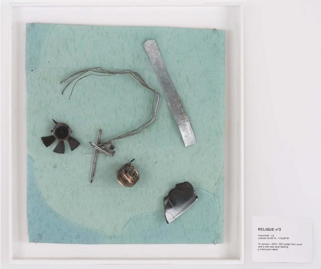 , 'RELIQUE n°2, 10 January 2016,' 2016, Galerie Nathalie Obadia