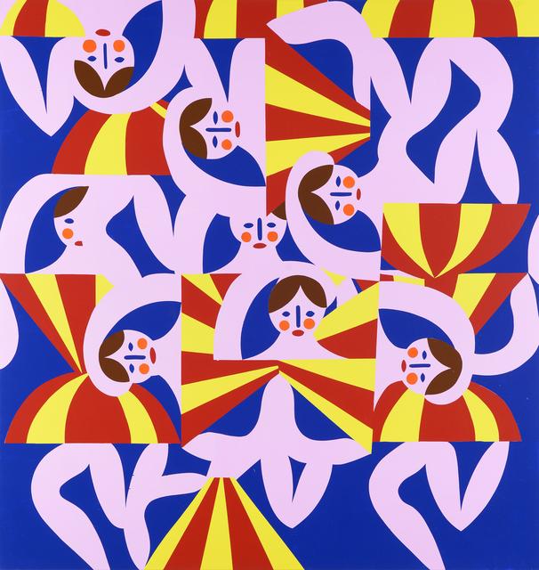 Christoph Ruckhäberle, 'untitled (Dancer2)', 2019, Painting, Oil on canvas, Galerie Kleindienst