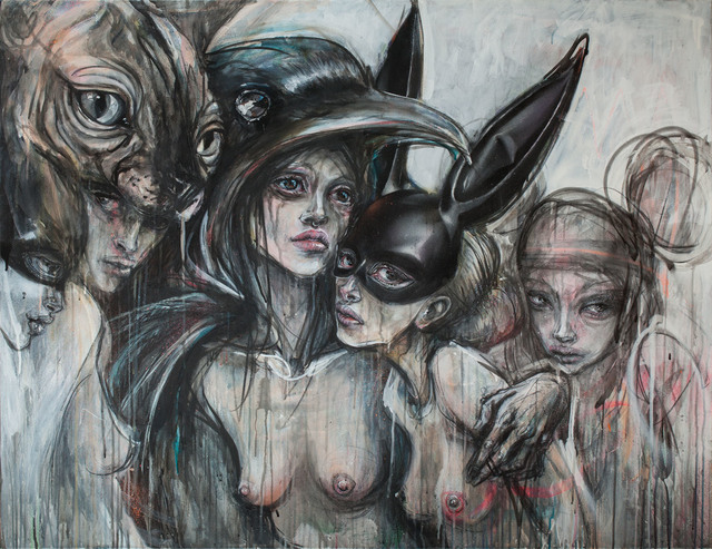 , 'Gruppenbild.,' 2017, StolenSpace Gallery