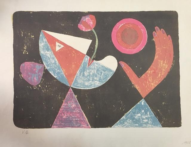 Victor Brauner, 'La Fiancée Heliotropique', 1955, Wallector