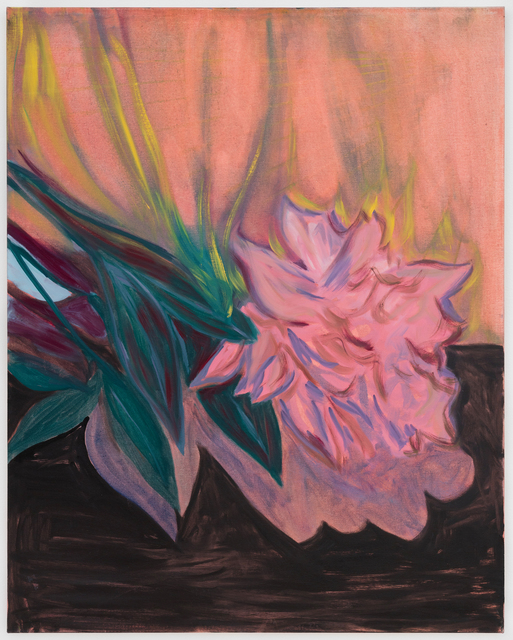 , 'Peonies on Fire (after Manet),' 2017, Projet Pangée
