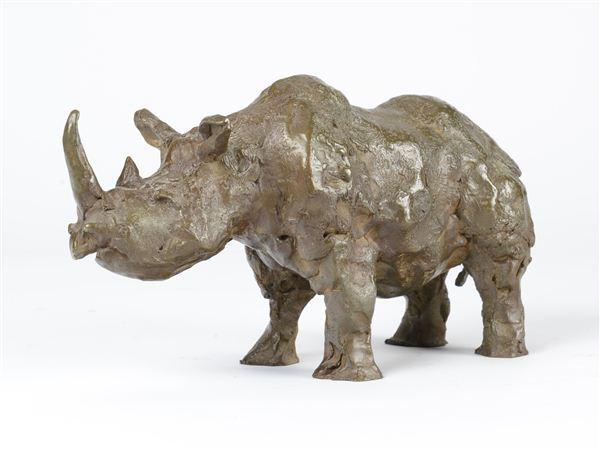 Pat Oliphant, 'Rhino, Edition of 9', 1992, Gerald Peters Gallery