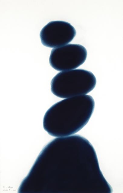 , 'Blue Column,' 2017, Annely Juda Fine Art