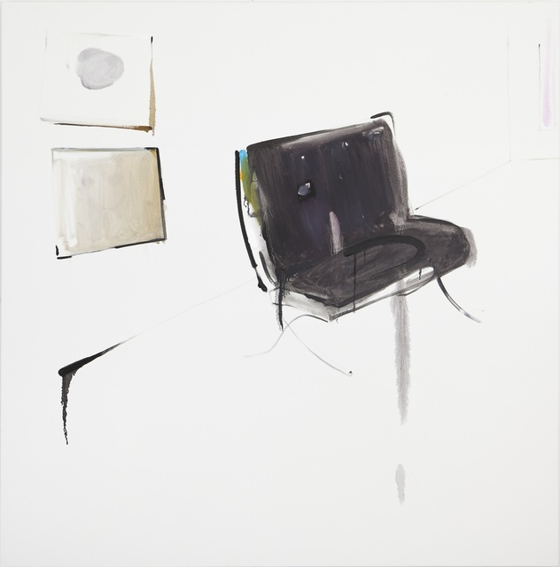 , 'Smiley painting and sad chair,' 2015, Eleni Koroneou