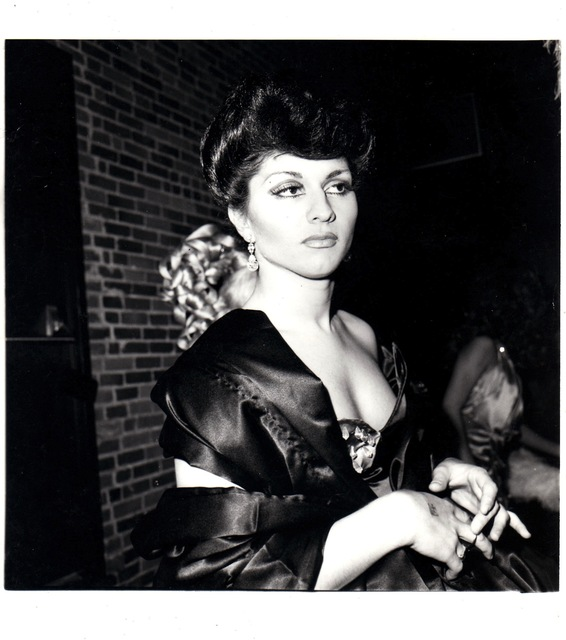 , 'Colette in Sophie Loren drag,' 1973, Guido Costa