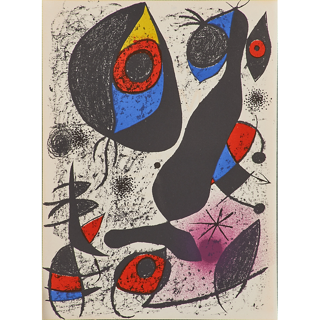 Joan Miró, 'Seven lithographs in colors', 1968-1973, Rago/Wright