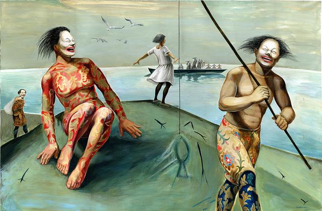 Niniko Morbedadze, 'Funny fishing', 2017, Baia Gallery
