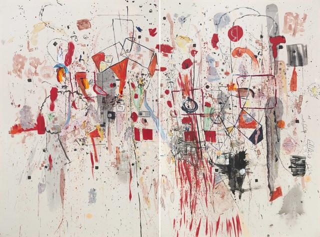 , 'Díptico,' 2015, Galeria Sur