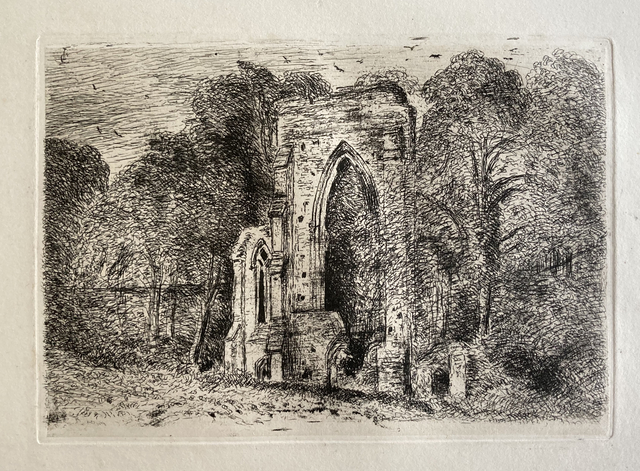 , 'Ruins at Netley Abbey,' 1816, Gerrish Fine Art