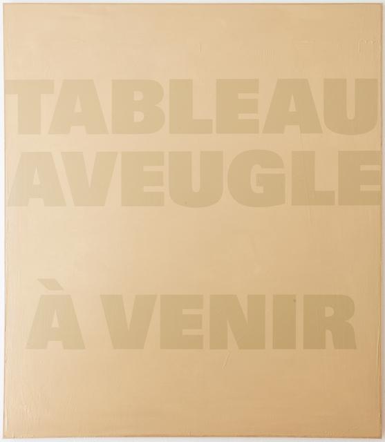 , 'Ein Blatt Papier II (SOP 247),' 1973-1989, Mai 36 Galerie
