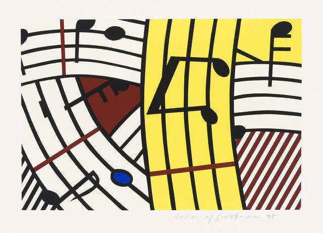 Roy Lichtenstein, 'Composition IV', 1995, Galerie d'Orsay